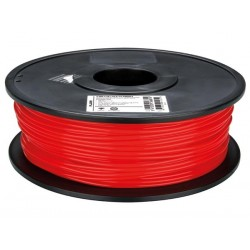 1.75 mm (1/16 ) FILAMENT ABS - ROUGE - 1 kg