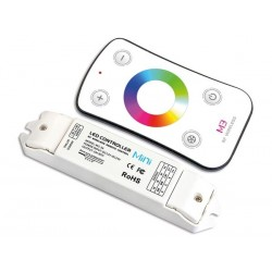 CONTROLEUR LED RVB AVEC TELECOMMANDE RF
