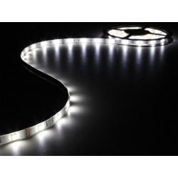 ENSEMBLE DE BANDE A LED FLEXIBLE ET ALIMENTATION - BLANC - 150 LEDS - 5 m