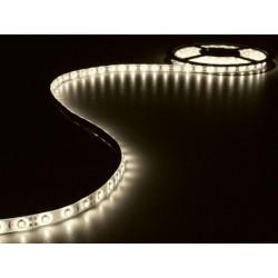 ENSEMBLE DE BANDE A LED FLEXIBLE ET ALIMENTATION - BLANC CHAUD - 300 LED - 5 m - 12Vcc