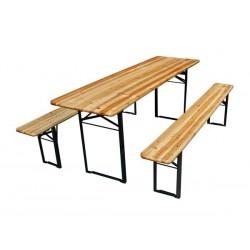 TABLE - AVEC 2 BANCS