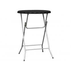 TABLE MANGE DEBOUT PLIABLE - Ø 80 x 110 cm