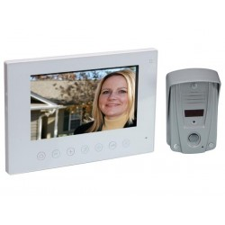 SYSTEME INTERPHONE VIDEO AVEC ECRAN COULEUR LCD
