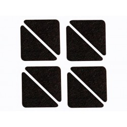 BANDE FEUTRE - TRIANGULAIRE 60 mm x 44 mm - 8 pcs