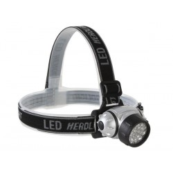 LAMPE FRONTALE A 23 LED BLANCHES ULTRALUMINEUSES