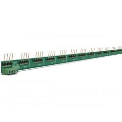 jeu de 2 rails d'interconnexion pour modules rail DIN