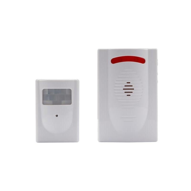 Ham220 alarme maison sans fil avec capteur pir - Bon de reduction alarme maison sans fil ...