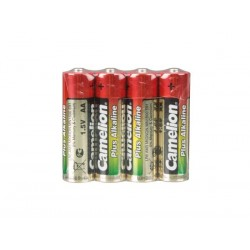 ALCALINE AA / LR6 1.5V 2600mAh (4pcs/film retractable)