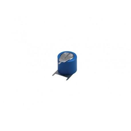 LITHIUM 3.0V-170mAh 6131.201.501 COSSES A SOUDER VERTICALES POUR CI