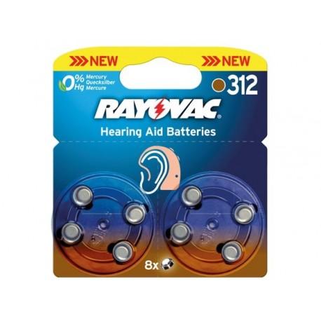 PILE BOUTON ZINC AIR RAYOVAC 1.4V-160mAh 4607.745.418 (8pcs/bl)