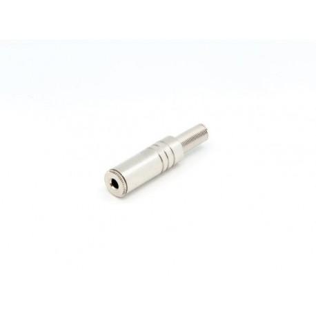 JACK FEMELLE 3.5mm STEREO ARGENTE