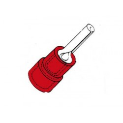 COSSE FEMELLE CYLINDRIQUE ROUGE