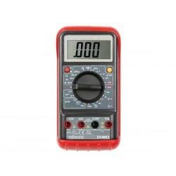 MULTIMETRE NUMERIQUE LCD 3 1/2 - 24 GAMMES / 10A