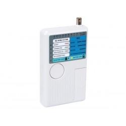 TESTEUR USB/LAN POUR USB-A. USB-B. BNC. RJ45. RJ12. RJ11. RJ10