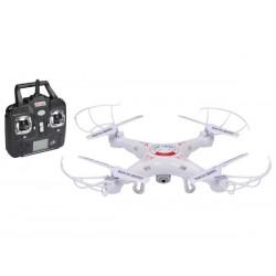 DRONE QUADRICOPTERE AVEC CAMERA HD (2 MP) - EMETTEUR A 4 CANAUX DE 2.4 GHz