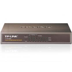 TP-LINK - COMMUTATEUR POE DE BUREAU - 4 x POE & 4 x PORTS RESEAU - 10/100M