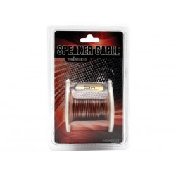 CABLE HAUT-PARLEUR - TRANSPARENT - 2 x 1.00mm² - 15m