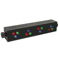 EFFET WASH/SPOT A LED - 12 LED R V B DE 1W