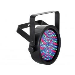 PAR56 LED INTELLIGENT - ABS - NOIR - DOUBLE ETRIER - 108 x 10mm LED