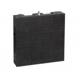 LUXIBEL - 2 x P10 ECRAN LED FULL-COLOUR EN FLIGHT-CASE - LED CMS - 640 x 640 mm
