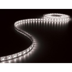 FLEXIBLE A LED ETANCHE IP68 - BLANC - 300 LED - 5m - 24VCC