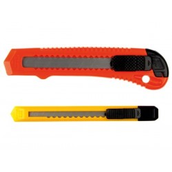 CUTTERS VERROU DE SECURITE (2 pcs 9 mm ET 18 mm)