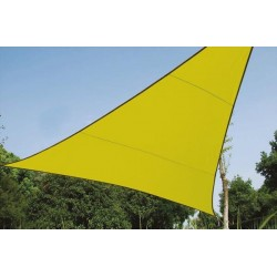 VOILE SOLAIRE - TRIANGLE - 3.6 x 3.6 x 3.6 m - COULEUR: VERT LIME