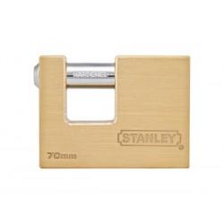 STANLEY - CADENAS A BAIONNETTE - EN LAITON MASSIF - 70 mm