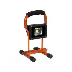 PROJECTEUR DE CHANTIER RECHARGEABLE LED - 10 W - 4000 K