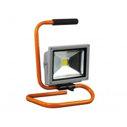 PROJECTEUR DE CHANTIER PORTABLE A LED - 20 W EPISTAR CHIP - 6500 K