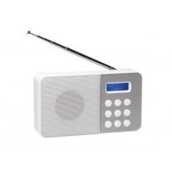 DAB-33WHITE - RADIO FM/DAB COMPACTE - BLANC