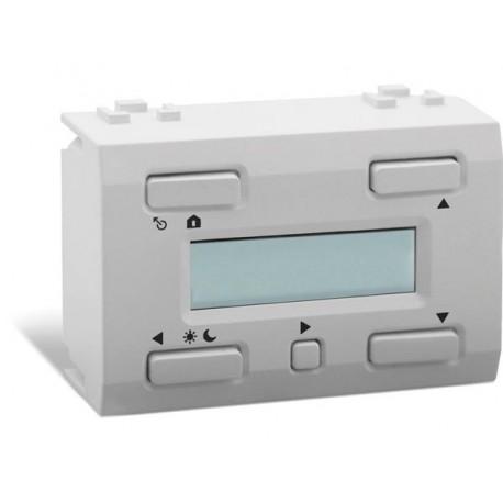 thermostat a afficheur LCD et sauvegarde du temps pour usage avec VMB1TS(W) . blanc