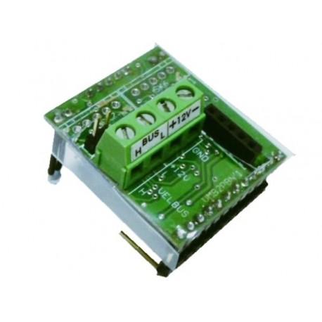 interface pour boutons-poussoirs Niko® simples ou doubles avec LED de notification d'etat bleues