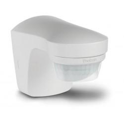 detecteur de mouvement et de crepuscule avec capteur de temperature pour l'exterieur. blanc