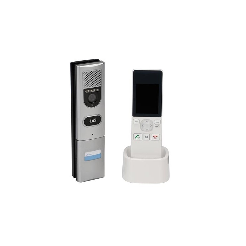 scamsetw5 interphone video couleur sans fil. Black Bedroom Furniture Sets. Home Design Ideas
