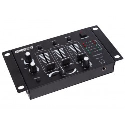 TABLE DE MIXAGE STEREO A 3 CANAUX 2 ENTREES MICRO